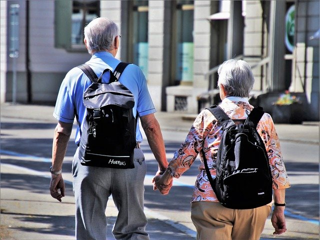 Vakantie voor ouderen
