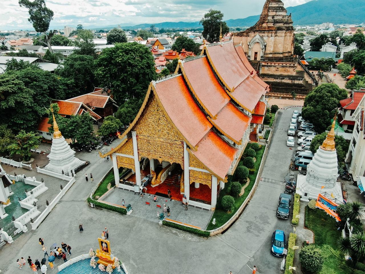 Op vakantie naar Chiang Mai
